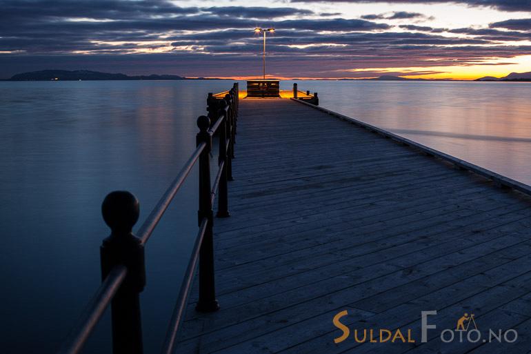Solnedgang på Jelsa